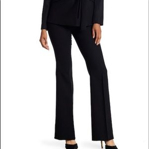 theory black flared jeans